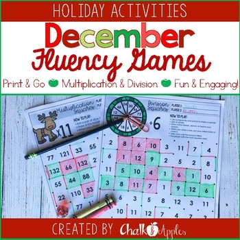 December Multiplication Division Square Games 1.jpg - December Multiplication & Division Square Games