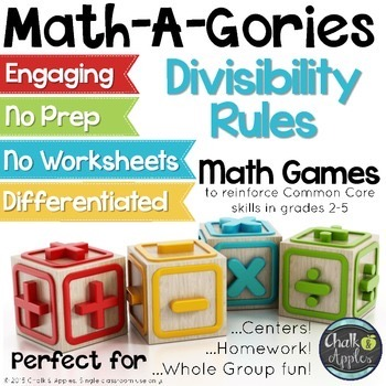 Divisibility Rules Game MathAGories 1.jpg - Divisibility Rules Game - MathAGories