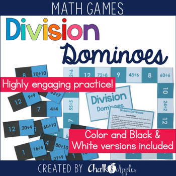 Division Fact Dominoes Game 1.jpg - Division Fact Dominoes Game