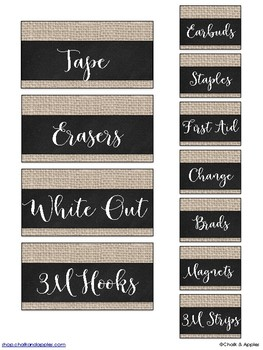 E4224AB0 D444 45C2 88BF D11813C238FD - Teacher Toolbox - Burlap & Chalk - Rustic Farmhouse Chic