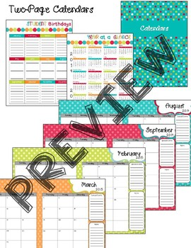 E5033861 91B0 4215 89B5 780B117D691C - Editable Teacher Planner - Turquoise Dots