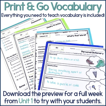EB4CA48A 2574 4D6B B597 52D2C57490CC - 3rd & 4th Grade Vocabulary UNIT 3 - Greek & Latin Roots