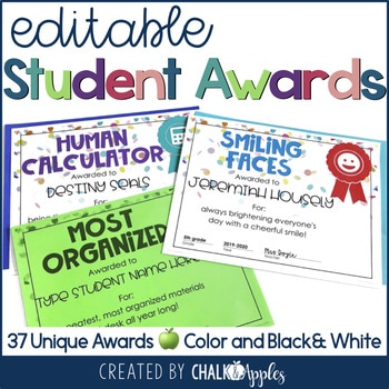 Editable End Of The Year Student Awards 1.jpg - Editable End of the Year Student Awards