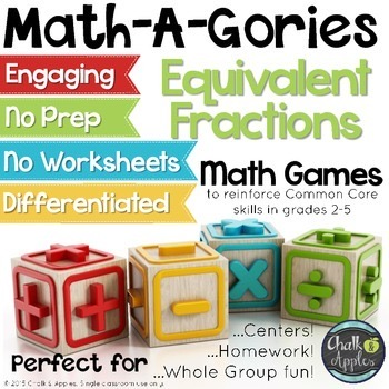 Equivalent Fractions Game MathAGories 1.jpg - Equivalent Fractions Game - MathAGories