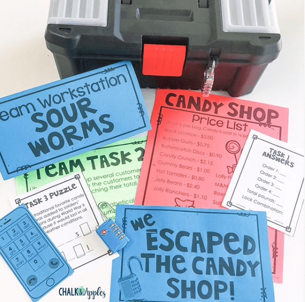 Escape Games 1 - How to Use Classroom Escape Games to Differentiate Instruction