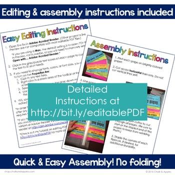 F4E31F4F 6A62 4D0C B0D8 07EF362A0332 - Student Passwords & Technology Info Flip Book (Editable Flipbook)