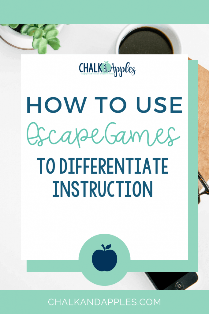 There are so many opportunities for digital instruction in upper elementary math class today! Students will love using classroom escape games in your classroom!