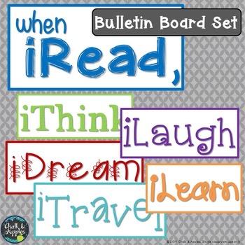 IRead Bulletin Board Set 1.jpg - iRead Bulletin Board Set