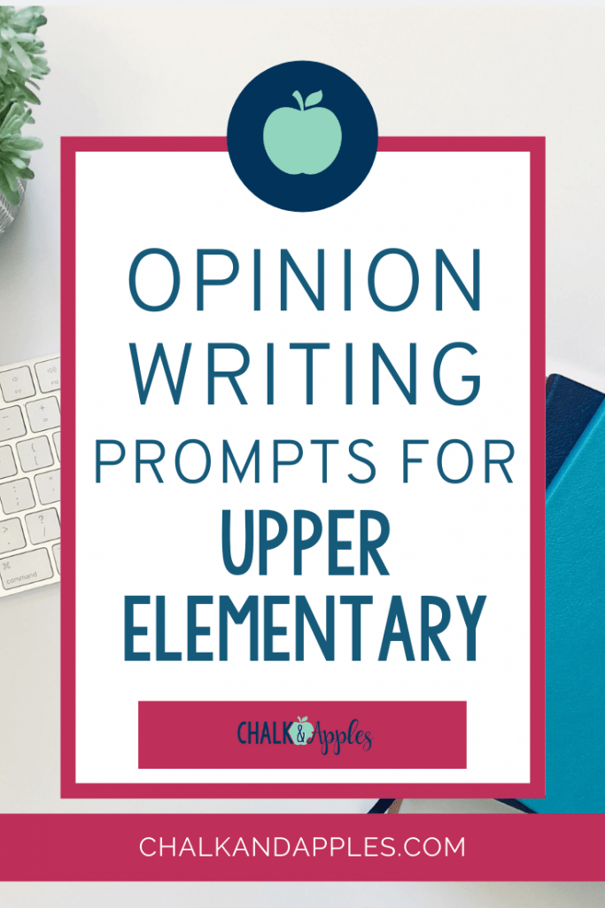 Check out these various ways to incorporate opinion writing prompts into your ELA curriculum in upper elementary. Print & digital ideas included!