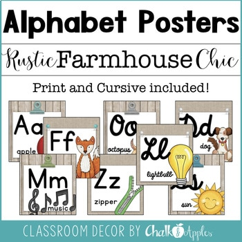 Rustic Farmhouse Chic Classroom Decor Bundle 2.jpg - Rustic Farmhouse Chic Classroom Decor Bundle