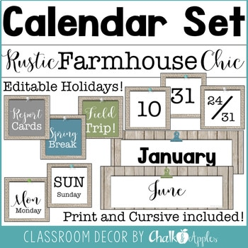 Rustic Farmhouse Chic Classroom Decor Bundle 3.jpg - Rustic Farmhouse Chic Classroom Decor Bundle