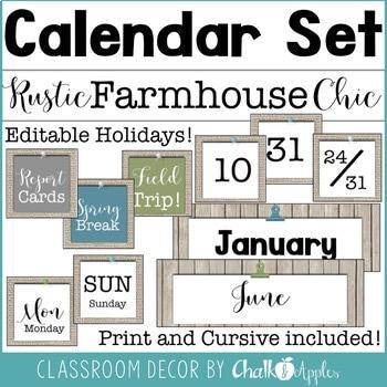 Rustic Farmhouse Chic Classroom Decor Bundle 3.jpg - Rustic Farmhouse Chic Classroom Decor Bundle