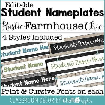 Rustic Farmhouse Chic Classroom Decor Bundle 4.jpg - Rustic Farmhouse Chic Classroom Decor Bundle