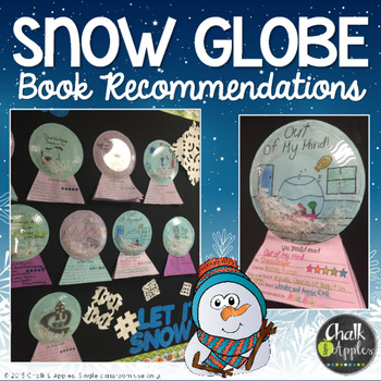 Snow Globe Book Recommendation Craftivity 1.jpg - Snow Globe Book Recommendation Craftivity