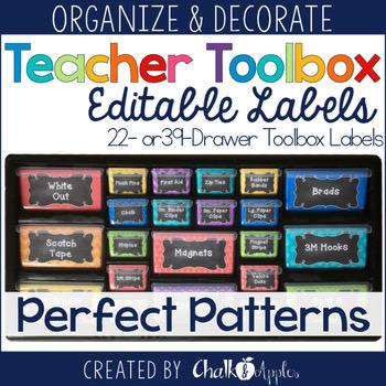 Teacher Toolbox Editable Chalkboard Labels 1.jpg - Teacher Toolbox - Editable Chalkboard Labels