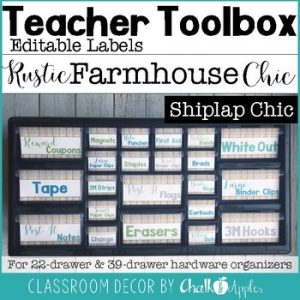 Teacher Toolbox Shiplap Chic Rustic Farmhouse Chic 1.jpg - Teacher Toolbox BUNDLE - Rustic Farmhouse Chic
