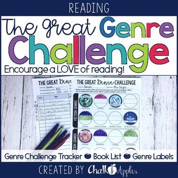 The Great Genre Challenge Kit Reading Log Alternative 1.jpg - The Great Genre Challenge Kit - Reading Log Alternative