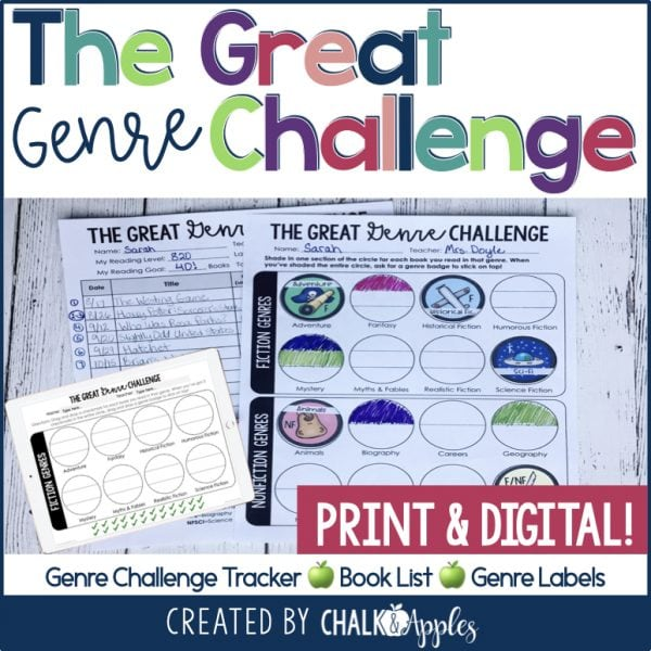 TheGreatGenreChallenge Featured Images.001 - The Great Genre Challenge Kit - Print & Digital Included