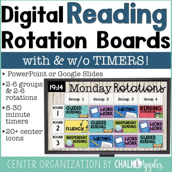 Digital Reading Rotation Board