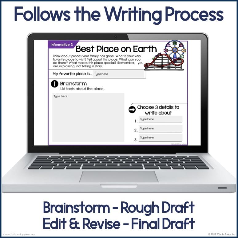 Thumbnails.002 2 - Narrative Writing Prompts for Elementary ELA
