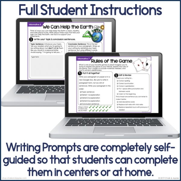 Thumbnails.004 2 - Informative Paragraphs - DIGITAL Weekly Paragraph Writing Prompts