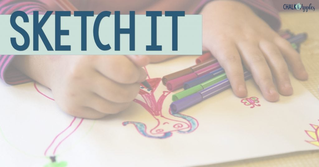 Sketch It Vocabulary Activity