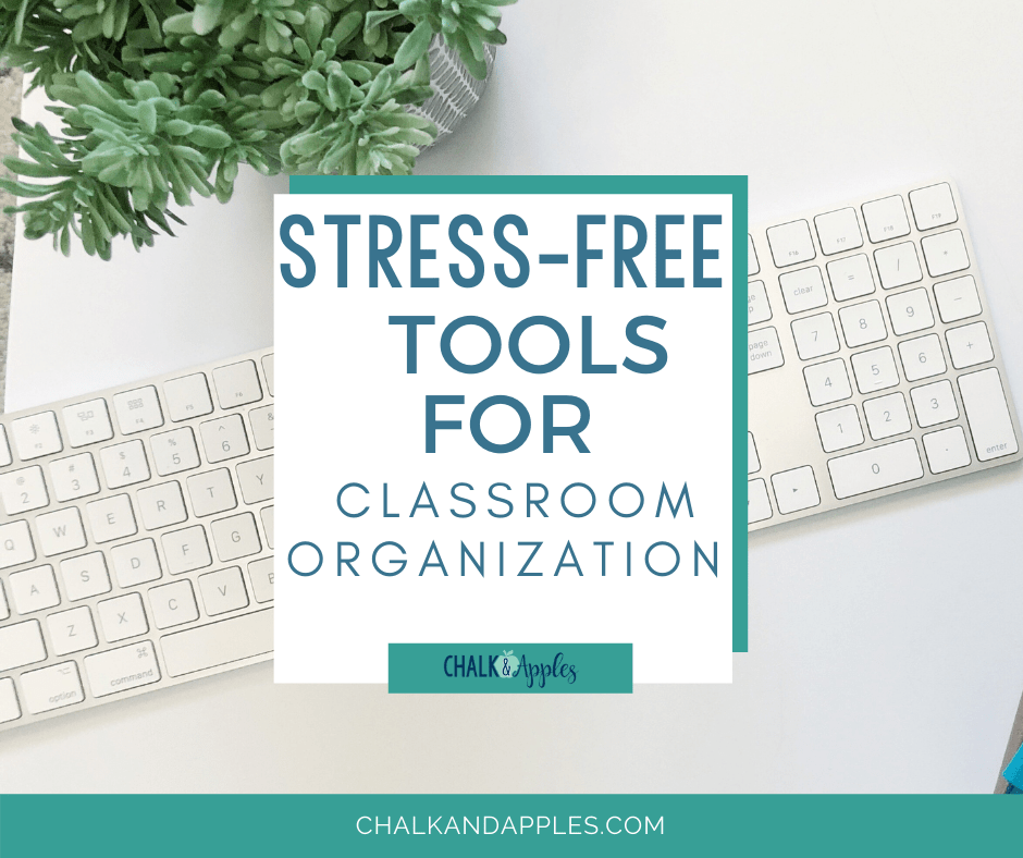 Think of how organized your classroom will be with these stress-free tools! Here are some simple ways to incorporate classroom organization today!