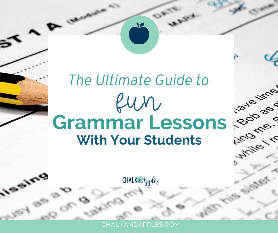 grammar lessons header 2 - The Ultimate Guide to Fun Grammar Lessons With Your Students