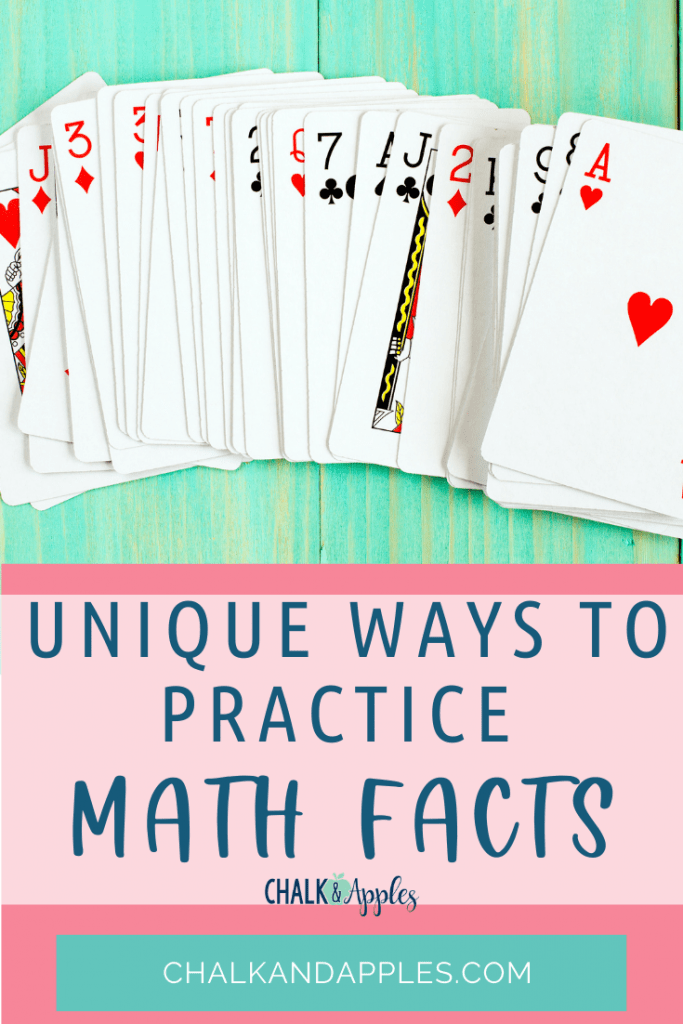 There are so many fun ways to practice math facts that will leave students begging for more! Let me share a few of my favorites with you!